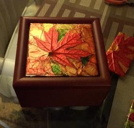 Maple Leaf Emboss